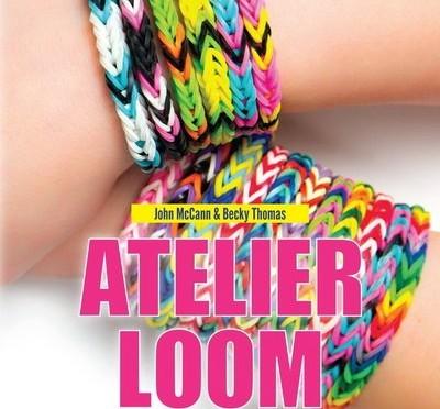 Livre : Atelier Loom : Bracelets, colliers et autres accessoires - John McCann & Becky Thomas