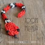 Serpent en élastiques - Version rouge